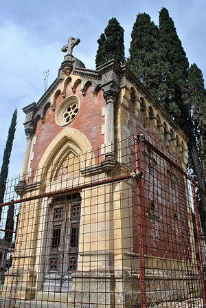 Stibbert Museum - Stibbert Chapel, Cimitero degli Allori, Florence, Italy
