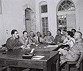 ISRAEL-JORDAN LOCAL COMMANDERS, ARMISTICE COMMUISSION, D770-016.jpg