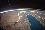 ISS-44 Night observation of the Nile river in Africa.jpg