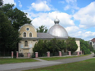 History of the Jews in Romania - The Great Synagogue (Iași), built c. 1670