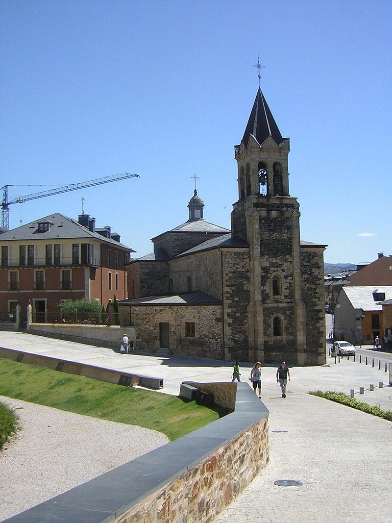 Iglesia San Andrés Ponferrada verano 2009.jpg