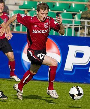 Igor Strelkov (footballer) - Igor Strelkov in 2008
