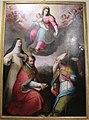 Il cosci, madonna col bambino in gloria e santi, da monastero SS margherita e maddalena (AR).JPG