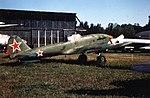 Ilyushin Il-10M Sturmovik ADDITIONAL INFORMATION- Ilyushin Il-10M in Soviet Air Force markings preserved at the Monino museum near Moscow, 1993 (18205277359).jpg