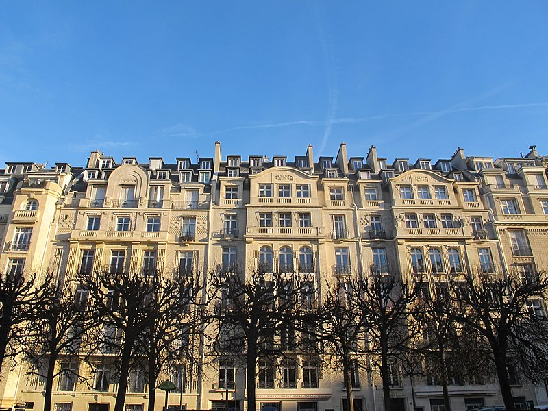 Immeubles square Lamartine, Paris 16e arrondissement