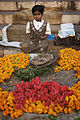 India - Varanasi girl selling flowers - 0911.jpg