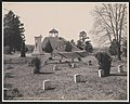 Indian mound, National Military Cemetery, Vicksburg, Miss. LCCN2017658693.jpg