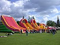 Inflatable slides - geograph.org.uk - 845487.jpg