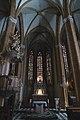 Innenraum der dreischiffigen Wallfahrtskirche Maria Straßengel 2012.JPG