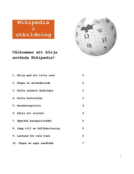 Fileinstructions On How To Get Started With Wikipediapdf