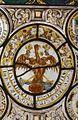 Interieur, glas-in-loodpaneel met gebrandschilderd glas, detail - Doorn - 20362498 - RCE.jpg