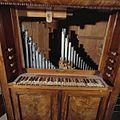 Interieur, secretaire-orgel, detail klaviatuur - Den Oever - 20370592 - RCE.jpg