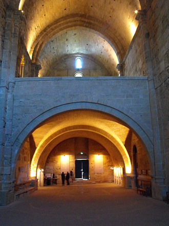Maguelone Cathedral - Maguelone Cathedral, interior