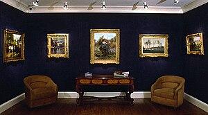 Rehs Galleries - Gallery interior