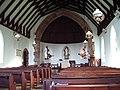 Interior of St John the Evangelist Church, Woodland - geograph.org.uk - 248878.jpg