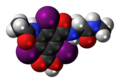 Ioglicic-acid-3D-spacefill.png