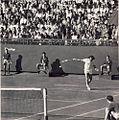 Ion Tiriac - 1972 Tiriac Smith in finala Cupei Davis03.jpg