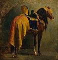 Isidore-Alexandre-Augustin Pils - Horse caparisoned - Google Art Project.jpg