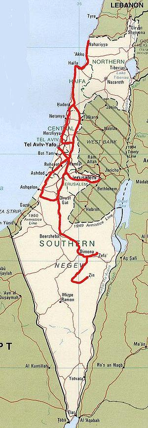 израильских железных дорог