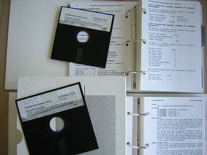 Interactive Systems Corporation - Interactive Unix 5¼-inch floppy disks