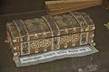 Ivory Inlaid Box Used by Abanindranath Tagore - Bichitra Bhavan - Jorasanko Thakur Bari - Kolkata 2015-08-04 1732.JPG