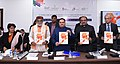 "J.P. Nadda releasing the framework for 'Clean Street Food Hubs' and 'Safe and Hygienic Food Festivals', at the ""First Health Ministers Roundtable on Food Safety & Nutrition"", organised by the FSSAI, in New Delhi.jpg"