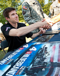 J. R. Hildebrand American racing driver