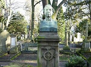 Johann Baptista Baltzer - Johann Baptista Baltzer, 1876 bust by Bernhard Afinger.