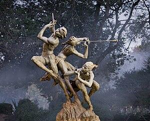 English: Joie de Vivre sculpture by Richard Ma...