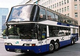 Neoplan Megaliner - Image: JR BUS kanto mega liner D750 00501