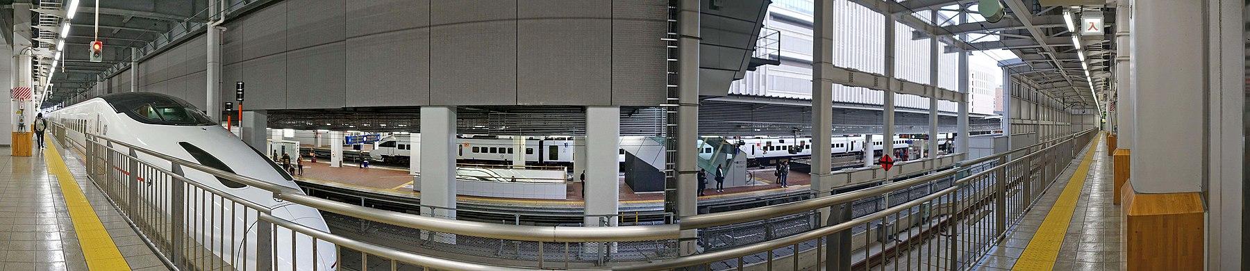 JR Hakata station , JR 博多駅 - panoramio (8).jpg