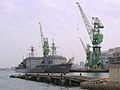 JS Chiyoda and JS Chiyaha at Kobe, -19 Dec. 2004 b.jpg