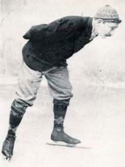 Jaap Eden skating
