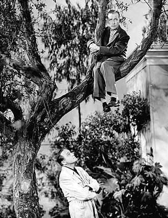 The Jack Benny Program - While Benny has Bing Crosby up a tree, thanks to Rochester's hammock invention, he uses the opportunity to bargain with Bing for a lower appearance fee, 1954.