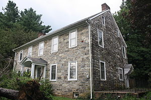 National Register of Historic Places listings in Northampton County, Pennsylvania - Image: Jacob Arndt House 01