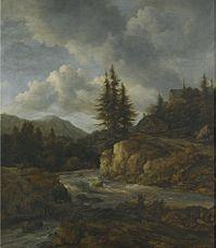 Jacob van Ruisdael - Mountainous landscape with a torrent.jpg