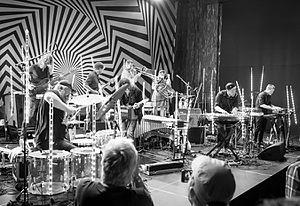 Martin Horntveth - Horntveth with Jaga Jazzist at Sentralen during the 2016 Oslo Jazzfestival.