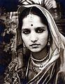 Jai Pal Singh's wife Ved Wati 1950s.jpg