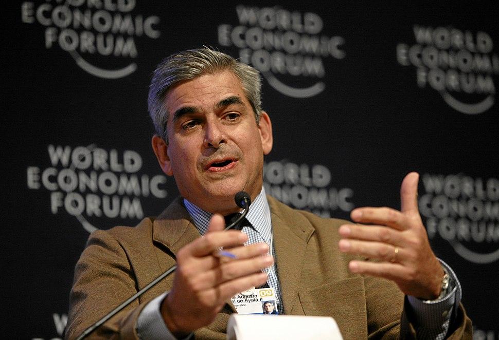 Jaime Augusto Zobel de Ayala II - World Economic Forum Annual Meeting Davos 2009
