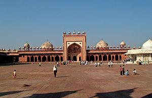 Jama Mosque, Agra - Mosque in Jama Masjid, Fatehpur Sikri, Agra