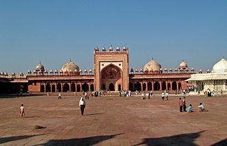 Jama Mosque, Fatehpur Sikri - Jama Masjid, Fatehpur Sikri, Agra
