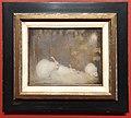 Jan Mankes - Witte konijnen in herfstbos 1911 (Q97139023).jpg