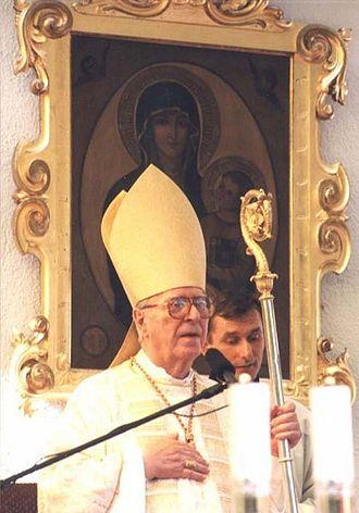 Roman Catholic Diocese of Nitra - Image: Janchryzostomkorec