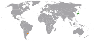 Diplomatic relations between Japan and the Eastern Republic of Uruguay