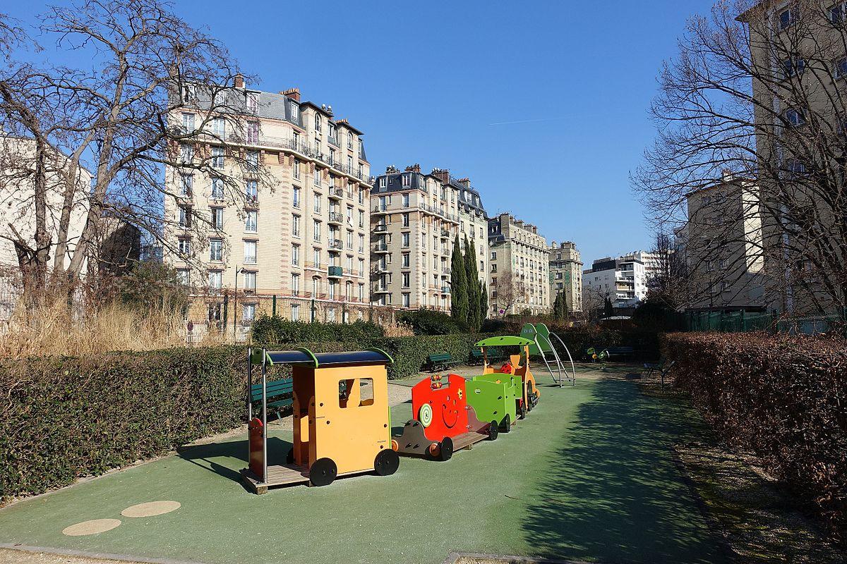 Jardin de la rue du colonel manh s wikidata for Jardin 54 rue de fecamp