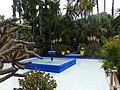 Jardins de Majorelle - Marrakech - Fontaine.jpg