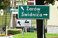 Jaworzyna Sl., fingerposts.JPG