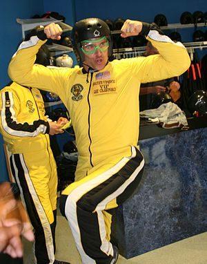 Jay Crawford - Jay Crawford participates in a skydive with the Army Golden Knights.