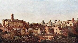 Jean-Baptiste-Camille Corot - The Forum Seen from the Farnese Gardens.jpg