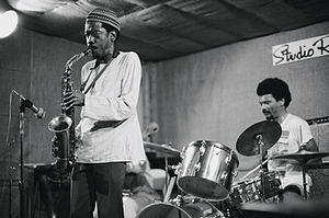 Sam Rivers - Jemeel Moondoc and Rashid Bakr at Studio Rivbea July, 1976